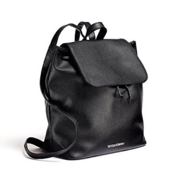 NWT Victoria s Secret Sexy Little Black Backpack f042896e0aedd